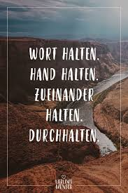 Visual Statements Wort Halten Hand Halten Zueinander Halten