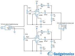 diy headphone amplifier circuit diagram using lm386 audio diy headphone amplifier circuit diagram using lm386 audio amplfiier chip working and construction of headphone amplifier circuit simple compo
