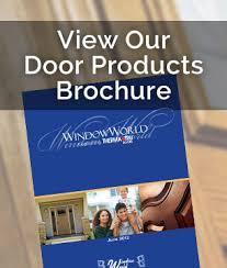 door patio window world: doors image sidebar door brochure doors