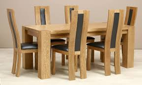 Barn Wooden Dining Table For  With Tufted Backseat Dining Chairs - Tufted dining room chairs sale