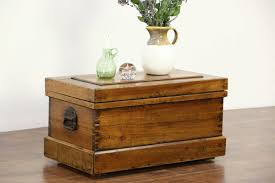 rustic coffee table treasure chest wooden trunk small tables console end wicker black glass distressed oval and wood side square with drawers marble sofa