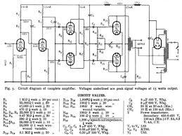 schematics preservation sound page 2 the original williamson hi fi amplifier schematic