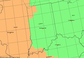 Time Zones In Indiana Time Genies Encyclopedia