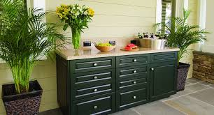 outdoor kitchen cabinets made with king starboard st evergreen