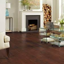 TrafficMASTER Dark Brown Hickory 7 Mm Thick X 8 1/32 In. Wide X 47 5/8 In.  Length Laminate Flooring (23.91 Sq. Ft. / Case)