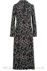giambattista valli fl print crepe coat black for women sv0tl576rj24b