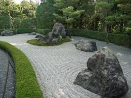 addining stones and pebbles in diffe sizes is a great way to achieve this zen look