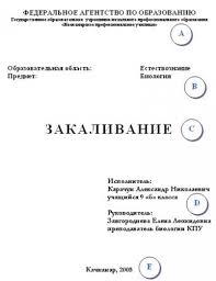 Титульный лист доклада как оформить советы и фото ru 3 Оформление шаблонного титульного листа для доклада