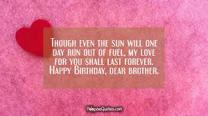 Quotes About Loving Your Brother
