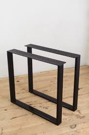 powder coated steel u shape table legs