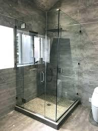 how to build a shower enclosure step 1 install