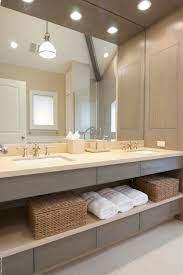 bathroom trends open vanity storage