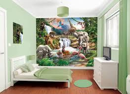 Kids Wallpaper For Bedroom Jungle Mural Kids Wall Murals