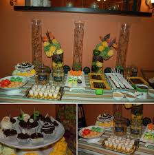 the dessert table for my husband s birthday party at home with