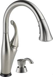 delta 9192t sssd dst addison single handle pull down touch kitchen for sink faucets ideas 12