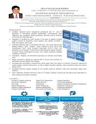Procurement Manager Resume Template For Manager Management
