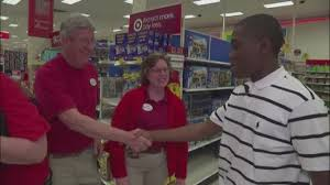 what to bring to a job interview teenager teen in viral tie photo at target thanks employees who helped him