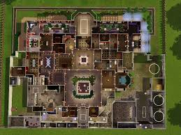 sims 3 modern mansion floor plans new house ideas simple