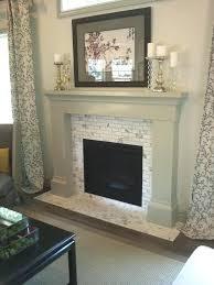 Gas Fireplace Glass Tile Surround Diy Ideas. Diy Glass Tile Fireplace  Surround How To Install White. Glass Tile Fireplace Mantels Cr Surrounds  Surround ...