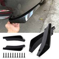 <b>A Pair Rear</b> Window Side Spoiler Canard Splitter For Audi A4 B8 ...