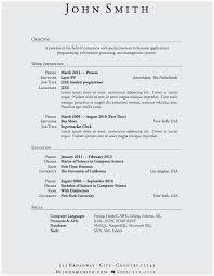 Resume With No Work Experience Extraordinary Sample Resume For College Students With No Job Experience