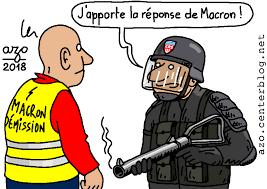 """Résultat de recherche d'images pour """"caricature manifestant et police"""""""