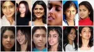 malam actress with and without makeup