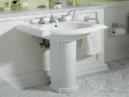 ideas bathroom sinks designer kohler: simple bathroom designs with pedestal sinks on small home renovating ideas with bathroom designs with pedestal