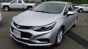 All-New 2016 Chevrolet Cruze -Silver Ice - YouTube