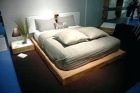 bed headboard set the lax wall mounted headboard and platform bed set ikea malm 3 piece