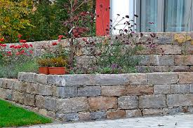 natural stone wall cladding garden textured decorative