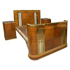 Superior View This Item And Discover Similar Beds And Bed Frames For Sale At    French Art Deco Bed With Two Night Stands. Dimension To Side Tables: D X X    Each