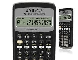 Financial Calculator Ba Ii Plus Financial Calculator Us And Canada