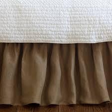 linen bedskirt king. Delighful King And Linen Bedskirt King B