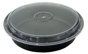 plastic container with lid oz plastic round microwave safe containers black base with clear lid 9