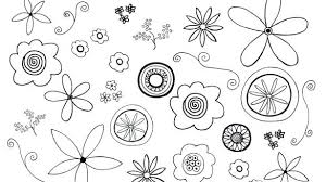 Free Coloring Pages Of Flowers Flower Fairy Printable Small