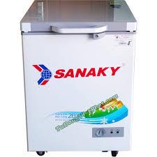 Tủ đông Sanaky 100 lít VH-1599HYK mặt kính xám