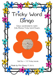 Cvc words are considered the simplest words for emerging. Tricky Word Sight Word Bingo Set 6 Jolly Phonics By Mrs Mossy