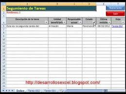 Formato De Minuta En Excel Aplicativo En Excel Para El Seguimiento De Tareas