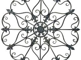 wrought iron decor for wall gs