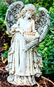 garden angel statues. Garden Angel Statues Statue Of A Young Girl With Uk M