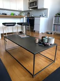 Extensible coffee table with synchronized revolving top glass tops. For Sale Free Nextdoor