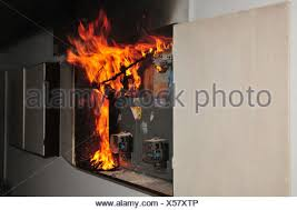 a fire broke out in a household electrical fuse box flames consumed fuse box fire causes a fire broke out in a household electrical fuse box flames consumed the board photographed