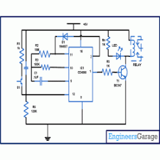 porch light auto turn off light circuit diagram circuit diagram for auto turn off light