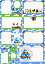 angry birds clouds printable invitations oh my angry birds clouds printable invitations