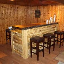 unique rustic furniture. Unusual Bars | Unique Rustic Furniture From Just Wood