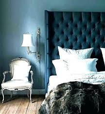 navy bedroom walls dark blue
