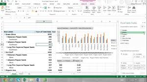 Pivot Chart Excel Excel Tutorial Welcome To Bobby Presents