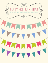 Download These Bunting Banners To Use For Your Party Printables