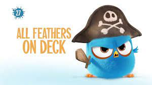 Angry Birds Blues | All Feathers On Deck - S1 Ep27 | Angry birds, Bird  island, Deck